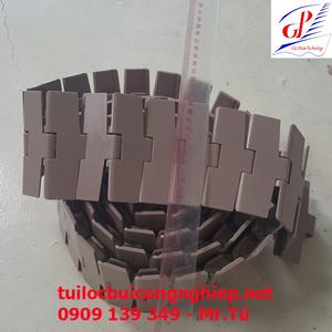 Băng tải xích nhựa cong K450 (W:114.3mm)