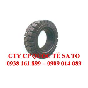 Bánh đặc xe nâng, lốp đặc, bánh/ lốp xe, Hiệu Solitech.