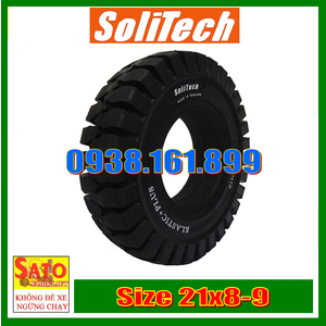 Vỏ xe nâng Solitech size 21x8-9