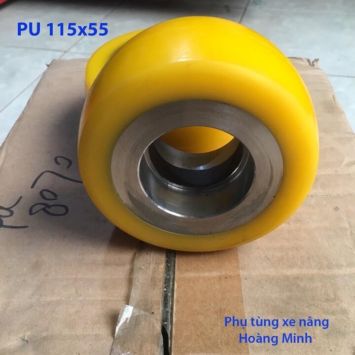 Bánh xe nâng điện PU 115x55