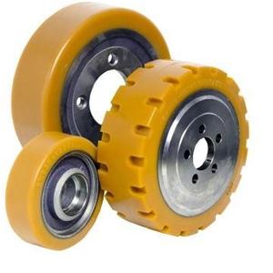 Bánh xe nâng điện đứng lái, vỏ xe nâng điện PU