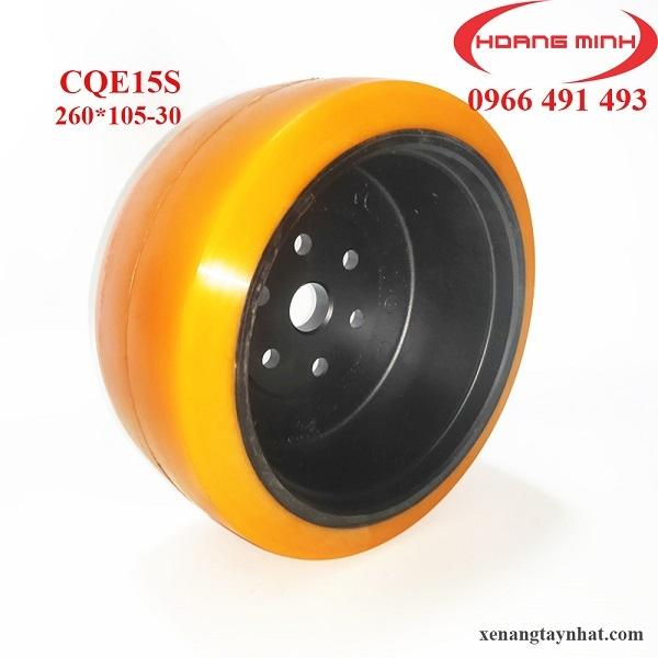 Bánh xe nâng điện PU 260x105-30