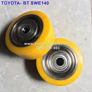 Bánh xe nâng điện PU 125x50| xe nâng điện BT TOYOTA
