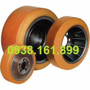 Bánh xe nâng điện PU - Bánh tải xe nâng điện Toyota 7FBR15 (Load Wheel)