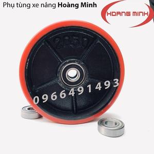 BÁNH XE NÂNG TAY PU 200X50