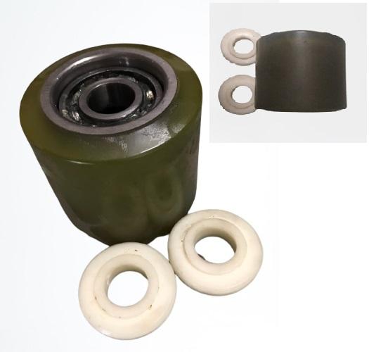 bạc đạn bánh xe nâng tay OPK, bạc đạn 6204, phụ tùng xe nâng tay,