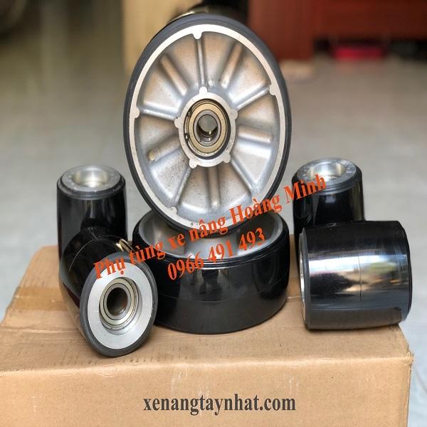 Kích thước bánh xe nâng tay- Phụ tùng xe nâng Hoàng Minh