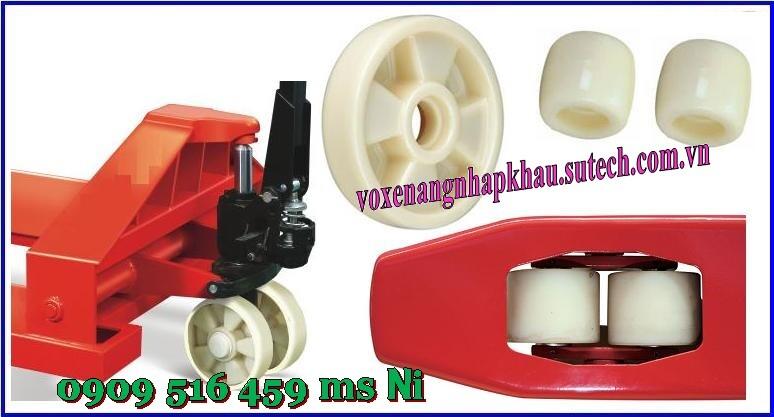 Bánh xe nâng tay nilon 80x90mm