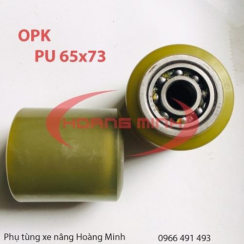 Bánh xe nâng tay PU 65x73
