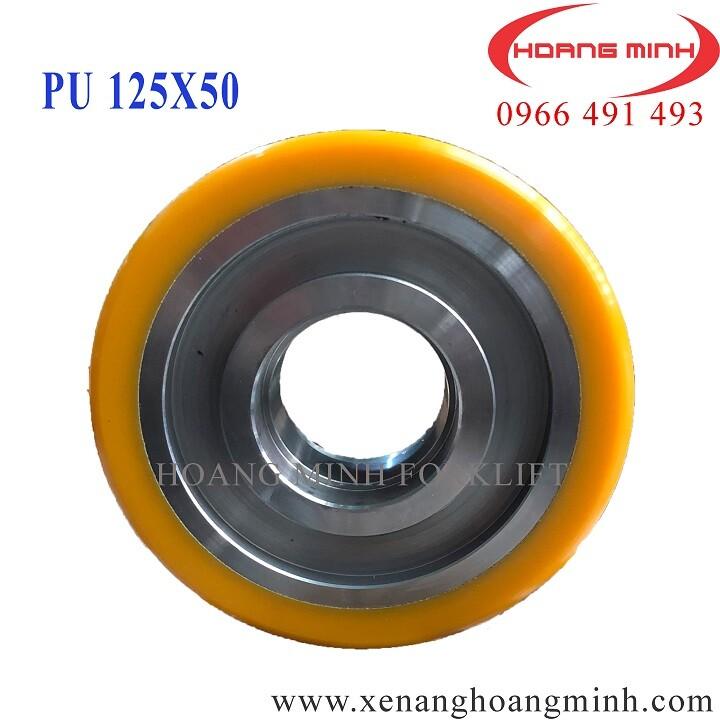 Bánh xe PU 125x50 nhập khẩu giá rẻ