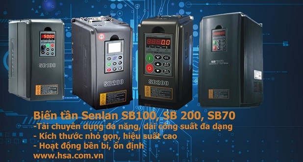 sửa chữa biến tần senlan sb100, sb200, sb70g
