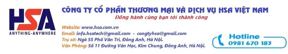 HSA AUTOMATION - Công ty Cổ Phần Thương Mại và Dịch Vụ HSA Việt Nam
