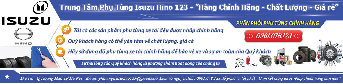 Trung tâm phụ tùng isuzu hino 123