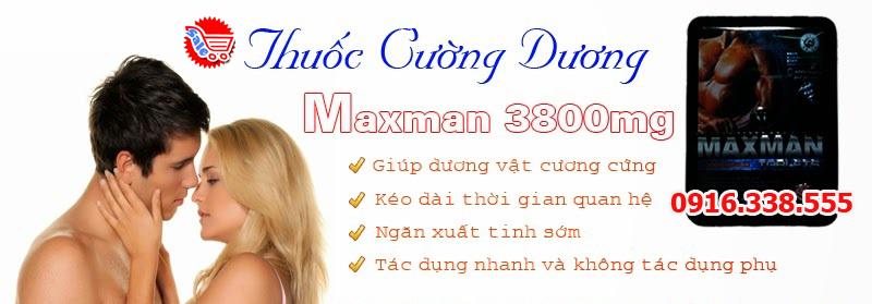 Thuốc cường dương hiệu  quả MaxMan XI 3800mg,Thuốc cường dương thảo dược Maxman 3800mg