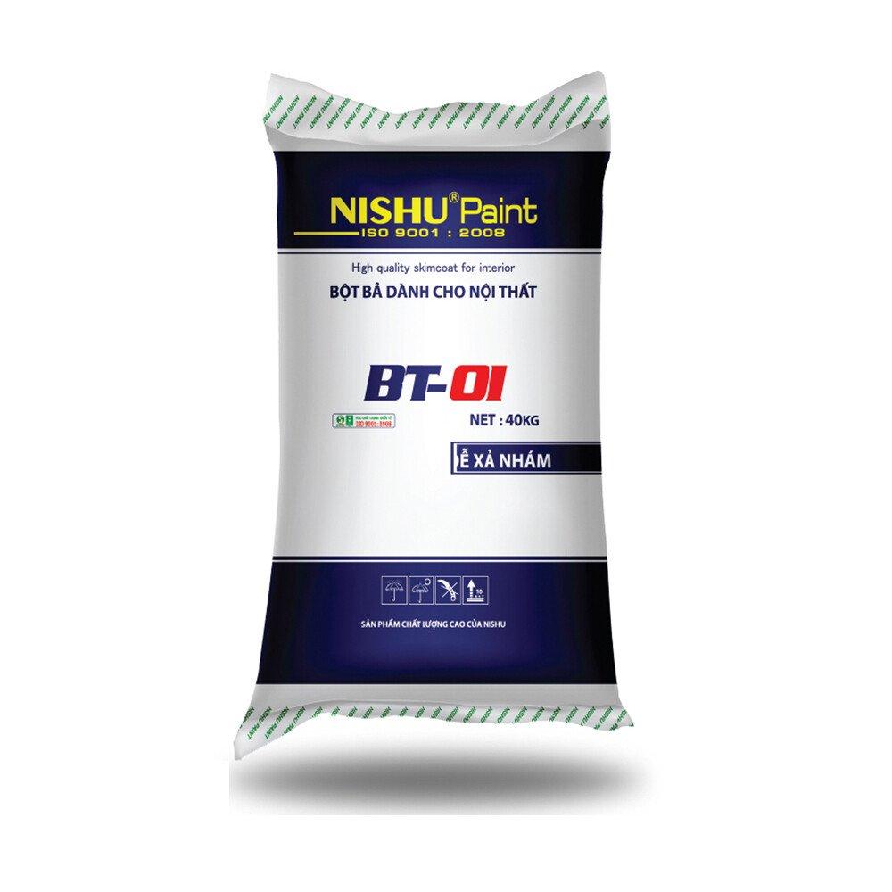 Sản xuất - bao bì bột trét tường Model: PN-04