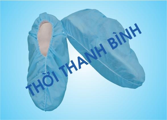 Bao giày ngắn cổ vải không dệt Thời Thanh Bình