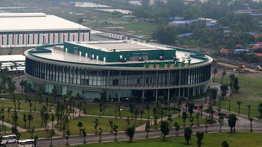 Trung tâm sản xuất của VinFast đặt tại Hải Phòng. Ảnh: CNBC.