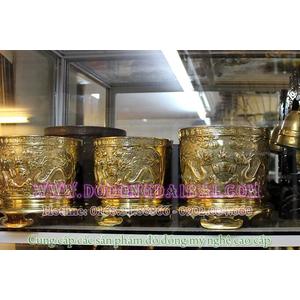 Các loại bát hương đồng thờ cúng gia tiên