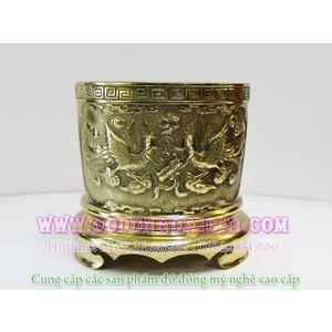 Bát hương đồng vàng đủ kích cỡ