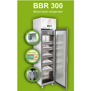 Tủ lạnh trữ máu,352 lít,cửa kính Model:BBR 300