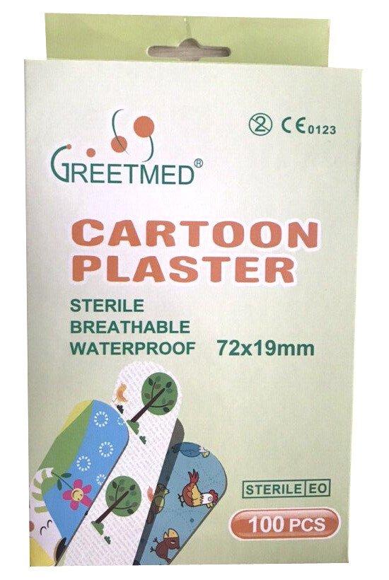 Băng cá nhân Greetmed Cartoon Plaster