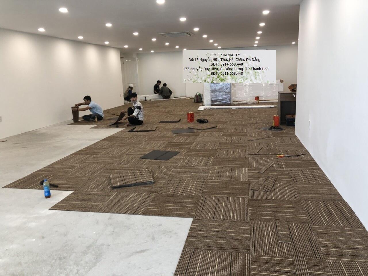 Hướng dẫn thi công thảm trải sàn