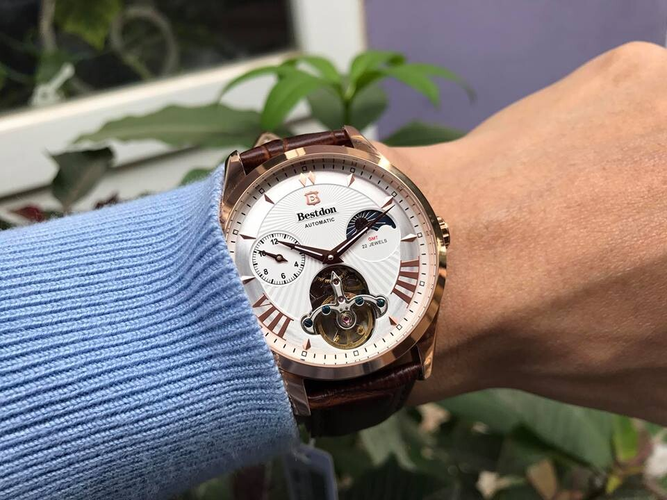 Đồng hồ nam tự động chính hãng Bestdon BD7113G - lkrt