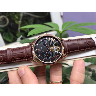Bestdon BD7113G Men's Automatic Mechanical Tourbillion Moon phase Watch