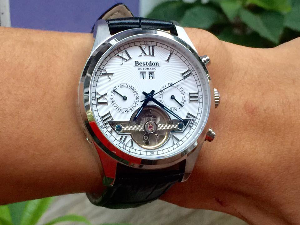Đồng hồ nam tư động chính hãng Bestdon BD7714G-SSLB