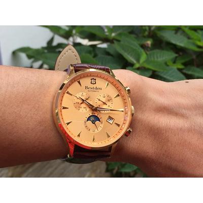 Đồng hồ nam tư động chính hãng Bestdon BD7716G-GSLB