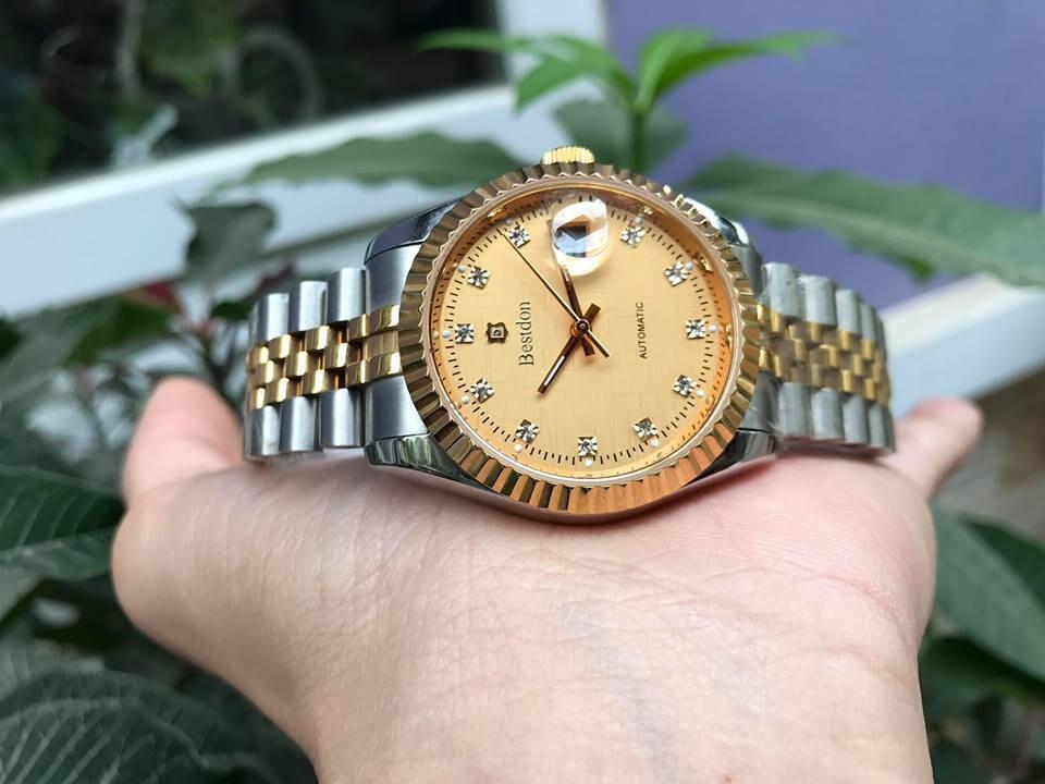 Đồng hồ nam tự động chính hãng Bestdon bd7718g - amskv