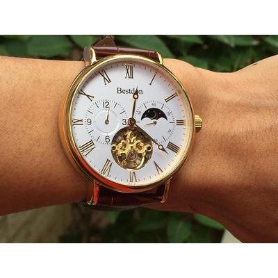 Đồng hồ nam tư động chính hãng Bestdon BD7118G-GSLB