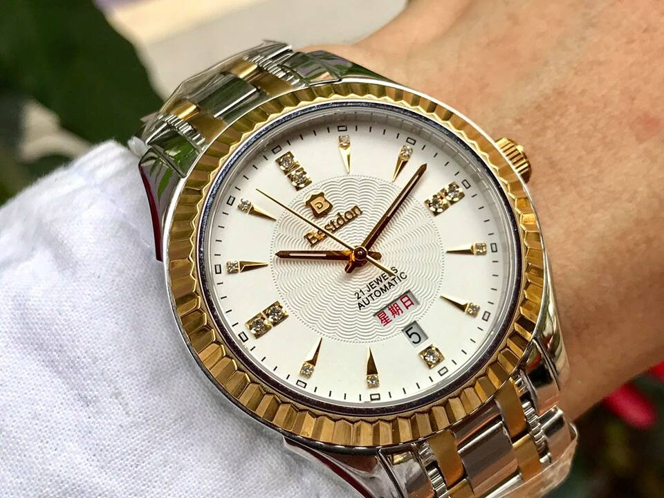 Đồng hồ nam tự động bestdon bd7730g - amskt chính hãng