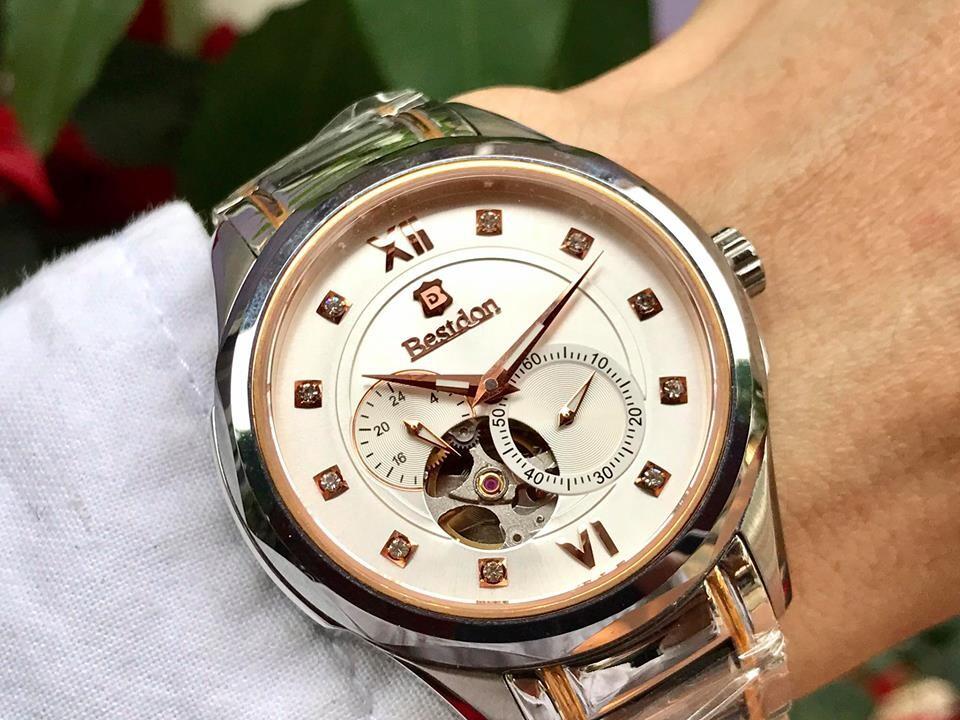 Đồng hồ nam tự động chính hãng bestdon bd7737g - amskrt