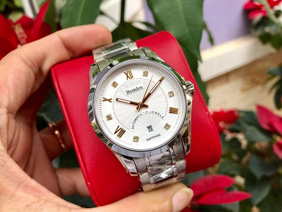 Đồng hồ nam tự động bestdon bd7766g - amskt chính hãng