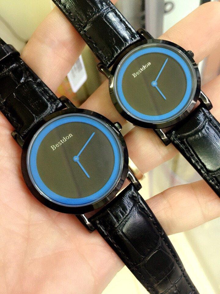 Đồng hồ cặp đôi chính hãng Bestdon BD9966GPB-1