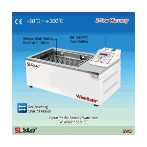 Bể lắc ổn nhiệt 18 Lít Scilab WiseBath SSB-18