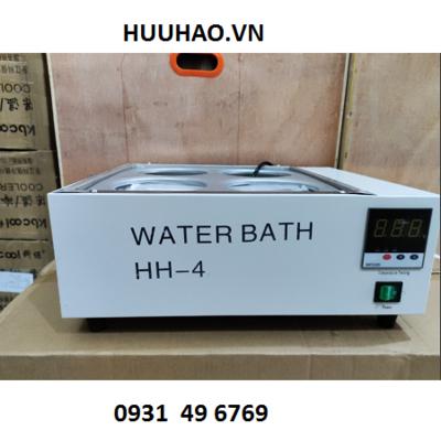 Bể nâng nhiệt 4 vị trí 12 lít HH-4 (HH-S4)