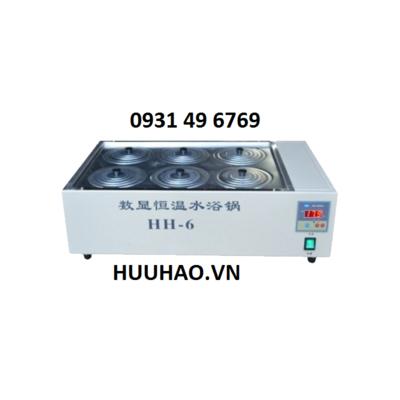 Bể nâng nhiệt 6 vị trí 18 lít HH-S6 (HH-6)