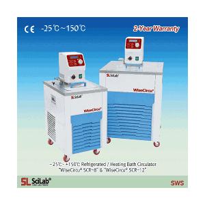Bể ổn nhiệt làm lạnh tuần hoàn SCR-8 Scilab -25℃~ +150℃