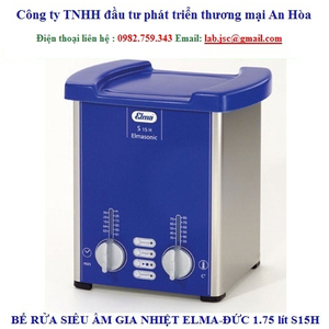 Bể rửa siêu âm Elma S15H