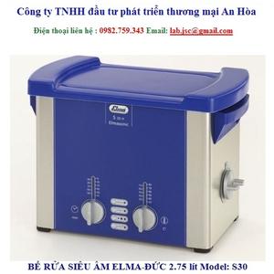 Bể rửa siêu âm Elma S30