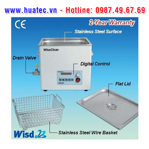 Bể rửa siêu âm WUC-D03H