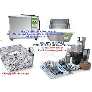 Bể rửa siêu âm công nghiệp 500l -1000l