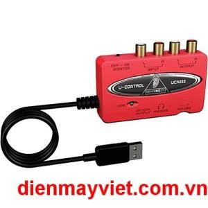 Behringer UCA222 - USB 1.1 Digital Audio Interface