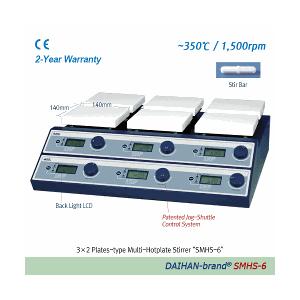 Bếp gia nhiệt có khuấy từ 6 vị trí SMHS-6 Daihan