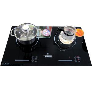 Bếp đôi điện từ kết hợp hồng ngoại Iruka I20