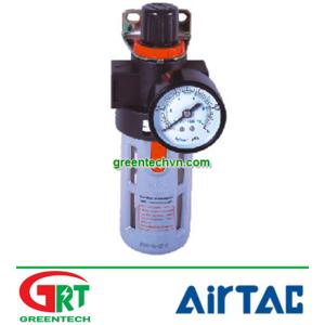 AirTac BF-4000A | Bộ lọc khí có xả áp tự động AirTac BF-4000A | Air Filter AirTac BF-4000A