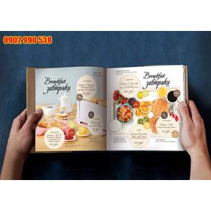 Bìa thực đơn cafe