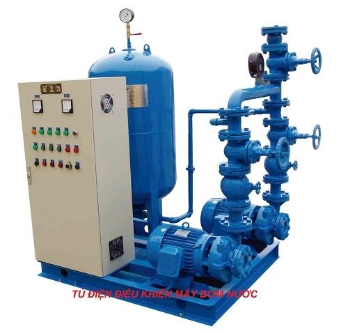tủ điện biến tần máy bơm nước